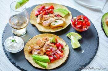 Step for Recipe - Grilled Tequila Lime Chicken Tacos