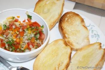 Step for Recipe - Bruschetta with Tomato and Sweet Peppers