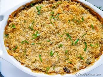 Step for Recipe - Turkey Tetrazzini with Mushrooms