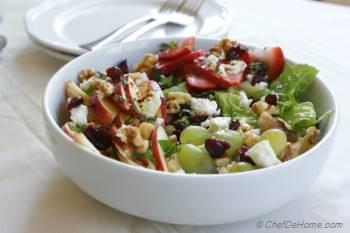 Step for Recipe - Healthy Waldorf Salad with Lite Dressing