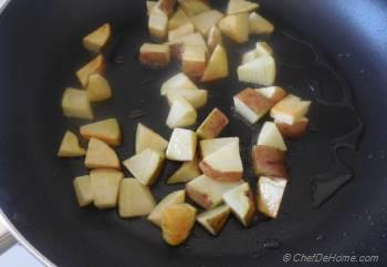Step for Recipe - Vegan, Zesty and Warm Radish-Potatoes Bowl | Indian Vrat Ki Chatpati Aloo Mooli Sabji