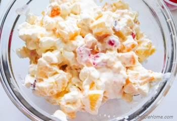 Step for Recipe - Ambrosia Salad