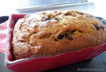 Step for Recipe - Moist Chia Chocolate Chip Banana Bread