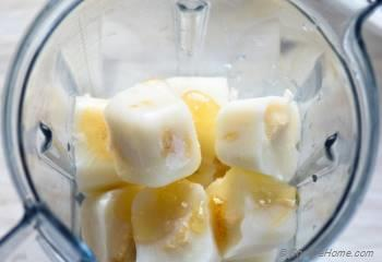 Step for Recipe - Instant No-Eggs Banana Pudding Frozen Yogurt