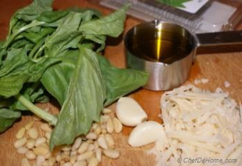 Step for Recipe - Classic Basil Pesto