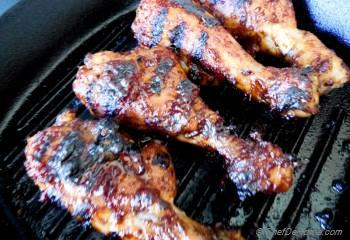 Step for Recipe - BBQ Chicken Drumsticks with Chipotle-Beer BBQ Sauce