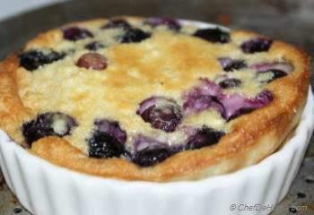 Step for Recipe - Blueberry Clafoutis