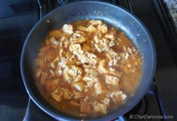 Step for Recipe -  Braised Chipotle Tofu Sofritas