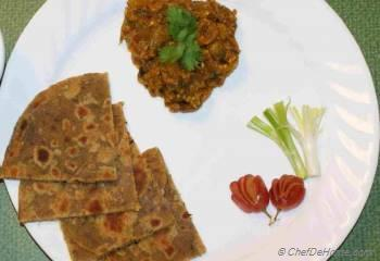 Step for Recipe - Baingan Bharta