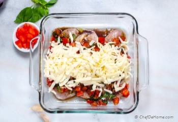 Step for Recipe - Bruschetta Chicken