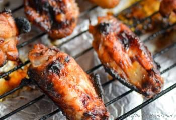 Step for Recipe - Honey Sriracha Chicken Wings