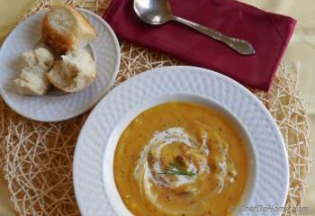 Step for Recipe - Butternut Squash Soup