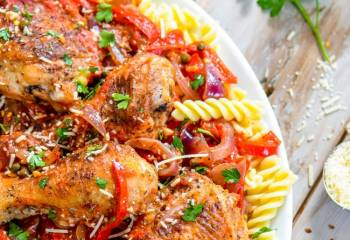 Step for Recipe - Easy Chicken Cacciatore