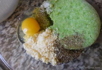 Step for Recipe - Heirloom Cauliflower Crust Tarts