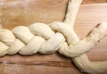 Step for Recipe - Traditional Braided Challah Bread