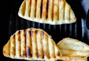 Step for Recipe - Grilled Hot Cheesy Chicken Calzone
