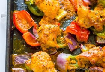 Step for Recipe - Sheet Pan Chicken Tikka