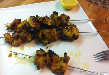 Step for Recipe - Chicken Shish Kabab