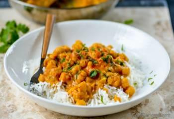 Step for Recipe - Easy Chickpea Curry with Basmati Rice