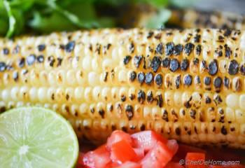 Step for Recipe - Chili Lime Roasted Corn Salsa