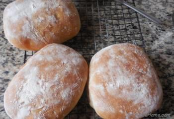 Step for Recipe - Italian Ciabatta Bread Rolls
