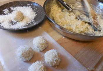 Step for Recipe - Coconut Cardamom Truffles