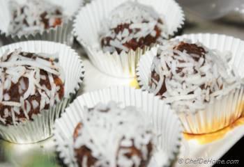 Step for Recipe - Coconut Truffles