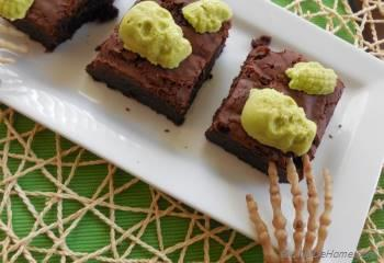 Step for Recipe - Creepy Brownies
