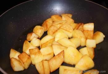 Step for Recipe - Masala Aloo