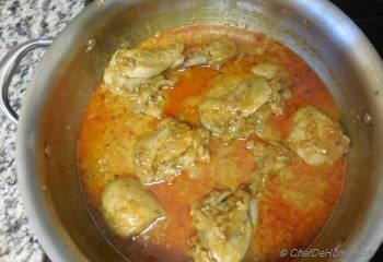 Step for Recipe - Indian Murg Dahiwala Fame Chicken in Yogurt Curry Sauce