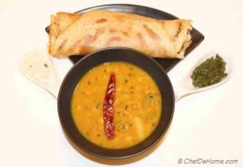 Step for Recipe - Dosa