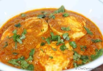 Step for Recipe - Egg Curry