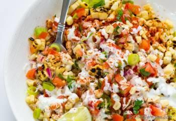 Step for Recipe - Esquites - Mexican Corn Salad