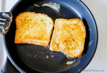 Step for Recipe - Eggnog French Toast with Orange Butter