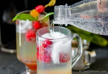 Step for Recipe - Cranberry Moscow Mule with Homemade Ginger Ale