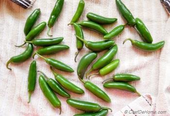 Step for Recipe - Green Chilli Pickle with Mustard | Hari Mirch Ka Achaar