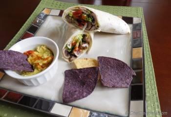 Step for Recipe - Guaca-Mushroom Wrap