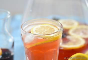 Step for Recipe - Sparkling Hibiscus Lemonade