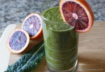 Step for Recipe -  Blood Orange and Kale Cleanse Smoothie