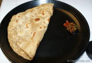 Step for Recipe - Black Pepper Spiced Flat Bread