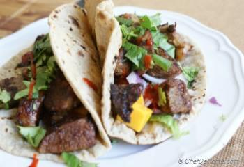 Step for Recipe - Korean BBQ Lamb Tacos