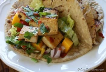 Step for Recipe - Korean BBQ Tofu Tacos