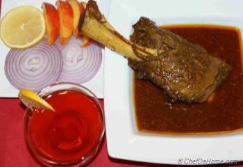 Step for Recipe - Lamb Shank
