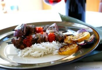 Step for Recipe - Grilled Lemon Herbs Lamb Skewers