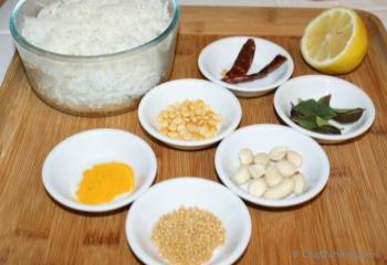 Step for Recipe - Lemon Rice