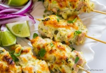 Step for Recipe - Malai Chicken Tikka
