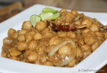 Step for Recipe - Punjabi Chana Masala