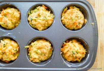 Step for Recipe - Zucchini Carrot Muffins