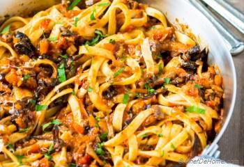 Step for Recipe - Mushroom Bolognese