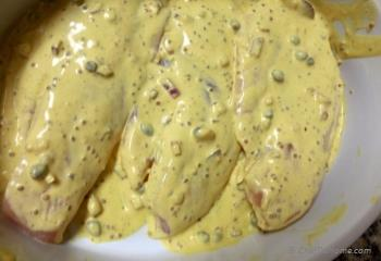 Step for Recipe - Baked Tilapia with Mustard Sauce